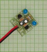 - E173f 5mm, Blinklicht, flash 1,5Hz 10 X Blink Led Widerstand - Blau Farben