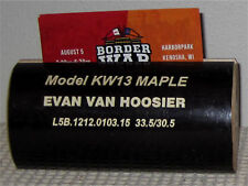 Evan Van Hoosier, Texas Rangers- Business Card Holder Made From Game Used Bat