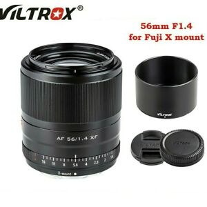 AU Viltrox 56mm F1.4 XF Large Aperture Autofocus Portrait Lens for Fuji X-mount