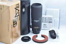 Ultrabeautiful Nikon NIKON AF Micro Nikkor 200mm F4 D ED with Box EXC++