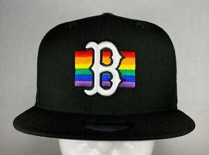 New Era MLB Boston Red Sox Prism Fill 9FIFTY Snapback Hat, New