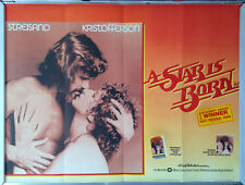 Cinema Poster: A STAR IS BORN 1976 (Awards Quad) Barbra Streisand Kristofferson