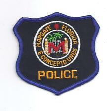 **VINTAGE MARGATE FLORIDA POLICE PATCH**