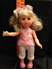 Retro Kathy Blonde Doll Trunk Clothes Shoes Sleeping Bag Mirror Drawer Hanger