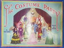 New ListingThe Costume Party Paper Dolls by Betty Campbell Storybook by Susan Popper Cut