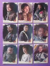 Star Wars Rogue One Series 1 Full Base Trading Card Set (90 Cards In Total)*New*