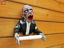 ZOMBIE TOILET ROLL HOLDER. Gothic, Horror, Great Unique Design & Very Different