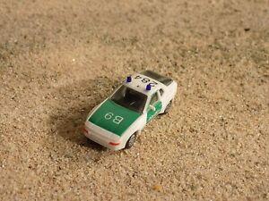 HERPA PORCE 944 POLICE CAR, SCALE HO