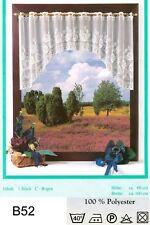 B52: Kurzgardinen Scheibengardinen Bistrogardinen Panneaux Landhausgardinen Set