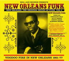 Soul Jazz Records presents New Orleans Funk Volume 4 CD NEW Voodoo Fire