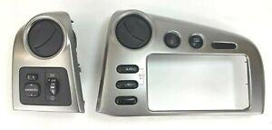 03-08 Toyota Matrix / Pontiac Vibe Dash Bezel RADIO Surround Air Vent Trim SET