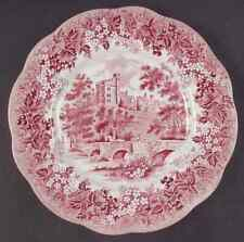 J & G Meakin ROMANTIC ENGLAND-RED Dinner Plate 351370