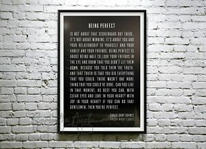 Being Perfect-Speech - Friday Night Lights- Coach Gary Gaines. poster