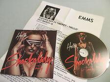 SHOCKOLADY FT. TIMOFEY Hello (Radio/Club Edits) promo CD single