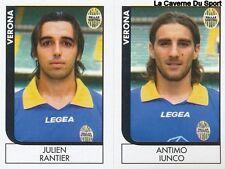 658 PANTIER/IUNCO ITALIA VERONA SERIE B STICKER CALCIATORI 2006 PANINI