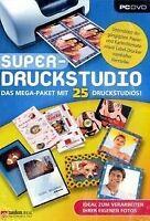 Super-Druckstudio - Das Mega-Paket mit 25 Druckstudi... | Software | Zustand gut