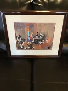 101 Dalmatians Limited Edition Cel- 55/500- Final sequence of film/Nicely Framed