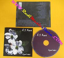 CD A.J. ROACH Dogwood winter 2003 NEW FOLKSTAR NFR001 (Xs2) no lp mc dvd
