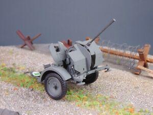 1/35 built/gebaut Nr 328gr - Wehrmacht 2cm Flak auf Anhänger
