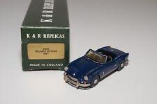 C K&R REPLICARS KR55 TRIUMPH SPITFIRE MKI DARK BLUE N MINT BOXED HANDBUILD KIT