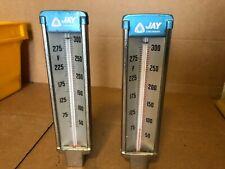 Jay, Industrial Thermometer, Range 50-300 Deg F