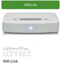 LightwaveRF WifiLink Connect smart home Wi-Fi link Hub Base JSJSLW500 WH