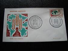GABON - enveloppe 1er jour 21/3/1963 (cy57)