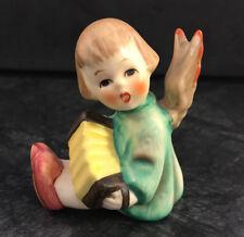 Hummel 1 /39/0 Engel Akkordeon Göbel Porzellan Figur Hummelfigur Kerzenhalter