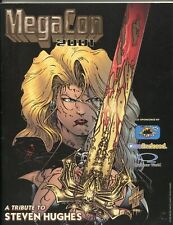 MegaCon Program Book 2001-Steven Hughes cover art-guest & artist bios-VF/NM
