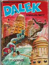 RARE: The Dalek Annual 1977. Unclipped price tag. % to charity do! Doctor Who