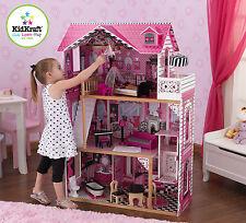 Kidkraft Puppenhaus Puppenstube groß Holz 65093 Amelia Dollhouse Geschenk  pink