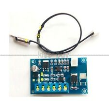 12V 24V DC Automatic PWM PC CPU Fan Temperature Control Speed Controller +Sensor