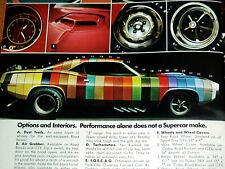 1970 PLYMOUTH DUSTER 340/BARRACUDA/GTX 440/ROAD RUNNER/FURY/426 HEMI/V8 engine