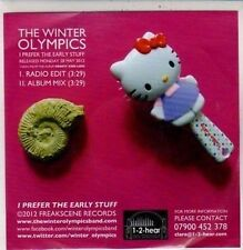 (DC151) The Winter Olympics, I Prefer the Early Stuff - 2012 DJ CD