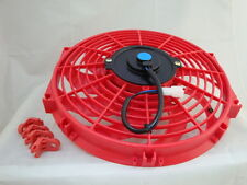 12 INCH LOW PROFILE RED HIGH PERFORMANCE THERMO FAN