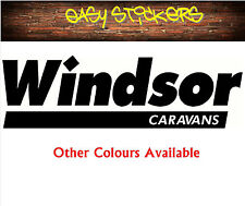 580mm Windsor Caravan RV Sticker - Any Colour!