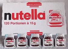 Nutella Portion Boîtes 120 x 15 g nappage schokoaufstich