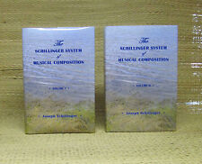 Schillinger System of Musical Composition 2 volumes 2003