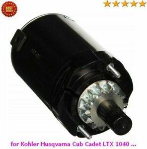 Starter for Kohler Husqvarna Cub Cadet LTX 1040 LT 1042 LT 1045 Courage Engine
