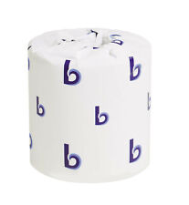 Boardwalk Two-Ply Toilet Tissue White 4 1/2 x 3 Sheet, 500 Sheets/Roll, 96 Rolls