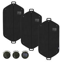 Suit Dress Travel Bag Garment Clothes Carrier Storage Breathable Black Cover
