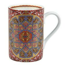 "Mug en porcelaine ""Alhambra"" Grenade Andalousie rouge"