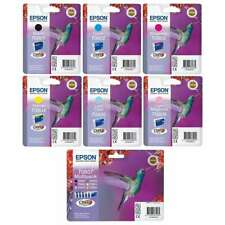 Genuine Epson T080 Ink Cartridges For Epson Photo P50 PX650 Lot