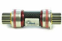 OMNI Racer WORLDS LIGHTEST Carbon Titanium ISIS Bottom Bracket 68x108mm ENGLISH