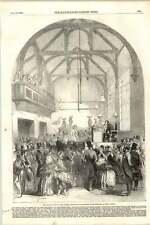 1855 DUNMOW quartelle Custom examen des candidats de discussion ouverte