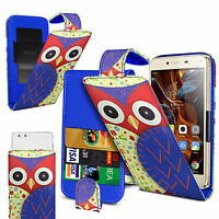 For Lenovo A516 - Printed Clip On PU Leather Flip Case  Cover