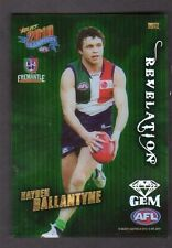 2010 Select AFL Champions Revelation Gem Card RG12 Hayden Ballantyne Fremantle
