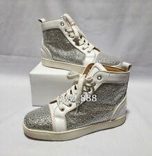 CHRISTIAN LOUBOUTIN Glitter Sneakers Size 36