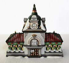 """Department 56, North Pole, """"Hall of Records"""""""