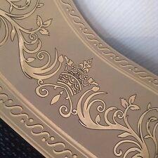 wunderschöne Barock Bordüre Caramel.gold.5m lang 17,7 cm breit
